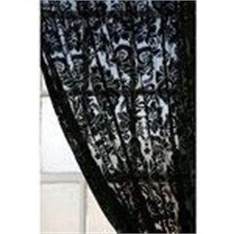 black lace curtain panels 1000 images about lace curtains on pinterest black