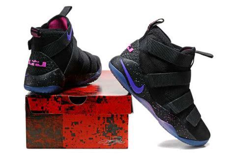 Lebron Soldier 11 Black nike lebron soldier 11 black purple pink for sale