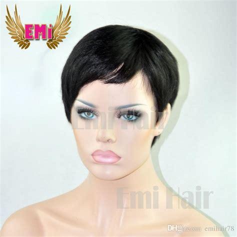 short boy cut wigs natural wigs sale pixie cut short human hair wig natural black rihanna cut