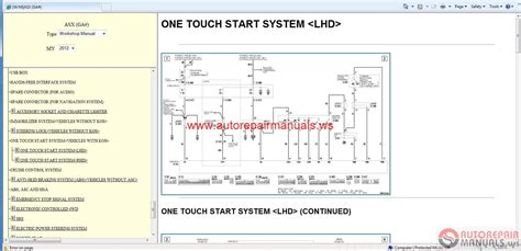 service manuals schematics 2012 mitsubishi eclipse security system mitsubishi asx 2012 workshop manual auto repair manual forum heavy equipment forums