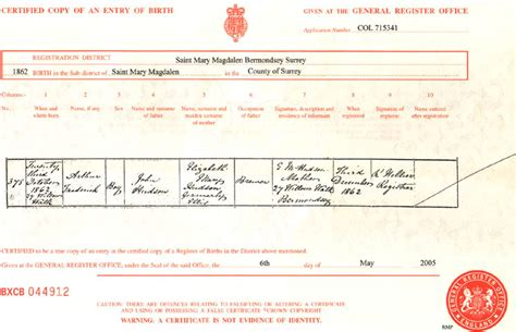 Islington Marriage Records Vital Records In The O Doherty And The Dyson Family History
