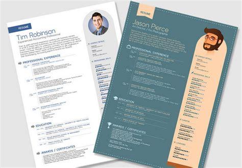 template cv menarik gratis word 13 desain template resume atau curriculum vitae gratis