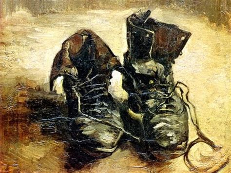 van gogh basic art ids 302 project vincent van gogh pair of old shoes