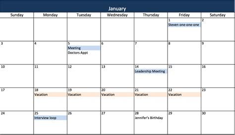 Calendar Templates Free Excel 3 Ways To Create Your Project Manager Calendar