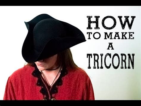 How To Make A Tricorn Hat Out Of Paper - how to make a tricorn hat