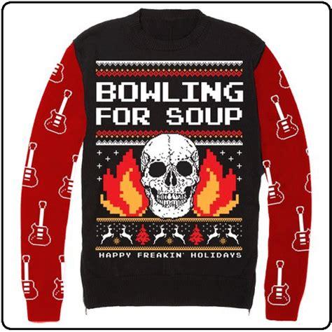 pop punk christmas sweaters win  holidays popbuzz