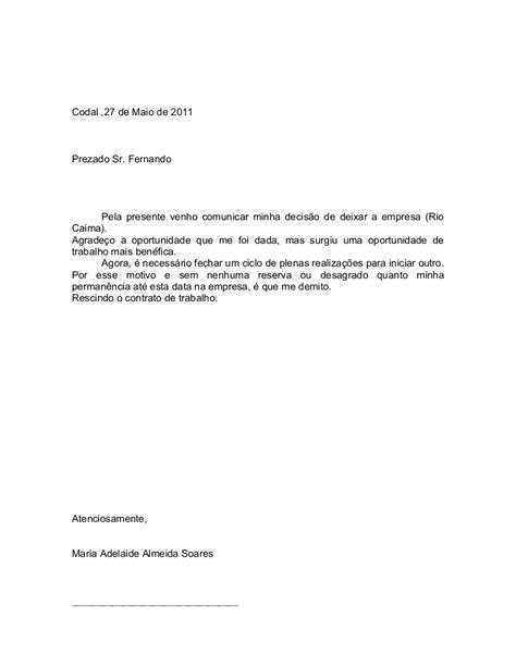 modelo de carta de pedido newhairstylesformen2014 com carta modelo modelo de carta de demissao