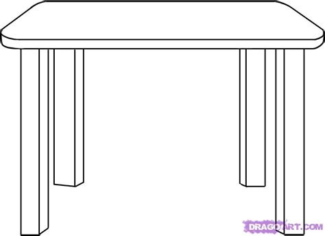 Design Own Kitchen Online by How To Draw A Table Step By Step Stuff Pop Culture
