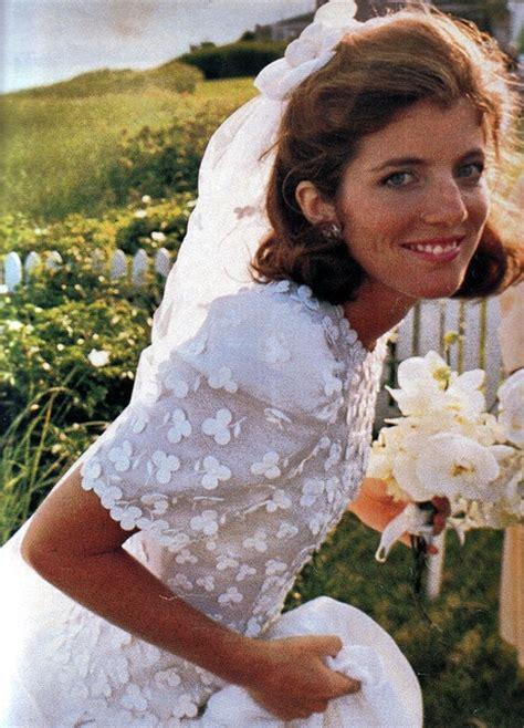 Caroline Kennedy Wedding Gown by Caroline Kennedy Wearing Carolina Herrera On Wedding