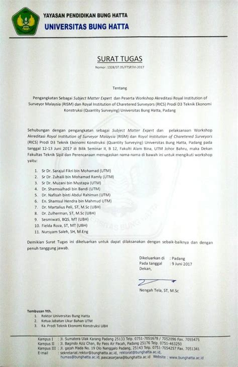 appointment letter for quantity surveyor page new appointment trans national education tne workshop