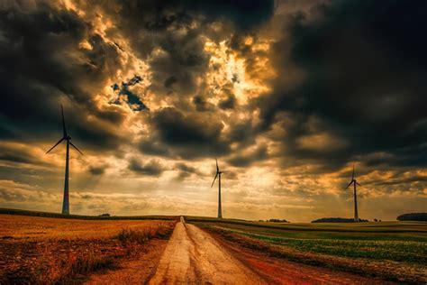 wallpaper  sky cloud dirt road windmill background