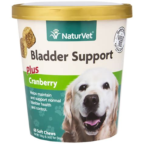 are cranberries for dogs naturvet 174 bladder support plus cranberry for dogs 60 soft chew entirelypets