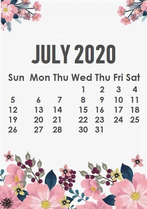 july  iphone wallpaper calendar wallpaper july