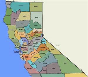 maps of counties in california socal vs norcal which has better scenery place