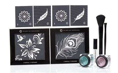glitter tattoo kit flower child glitter kit fx canada