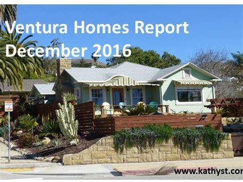 housing market 2016 ventura housing market report december 2016 venturacountyrealestatecenter com