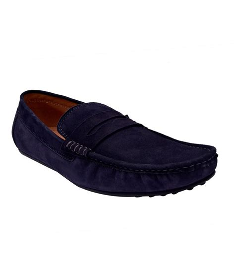 loafers casual hirel s blue loafers casual shoes price in india buy