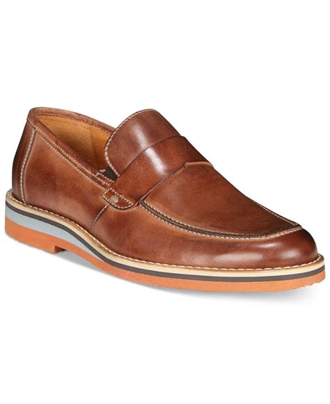 kenneth cole mens loafers lyst kenneth cole reaction s west loafers in