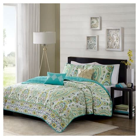 green quilted coverlet heather floral quilted coverlet set green target
