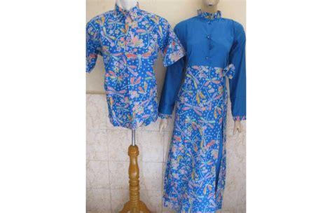 Batik Baju Sarimbit Biru baju batik sarimbit kinjeng biru toko batik jogja