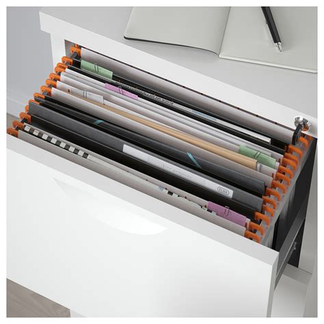 Erik File Cabinet Erik File Cabinet White 41x104 Cm Ikea