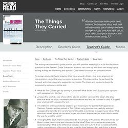 theme essay for the things they carried college essays college application essays the things