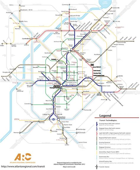 atlanta marta map atlanta transit map marta subway light rail brt transit light rail