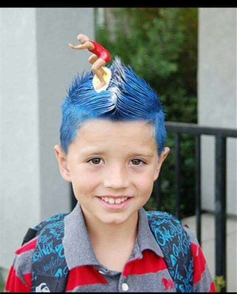 surfer kids hair styles for boys 59 best crazy hair day ideas images on pinterest crazy