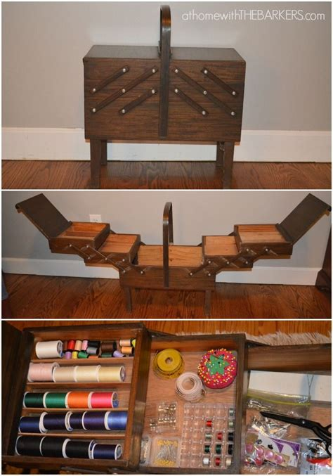 diy sewing box plans woodworking projects plans