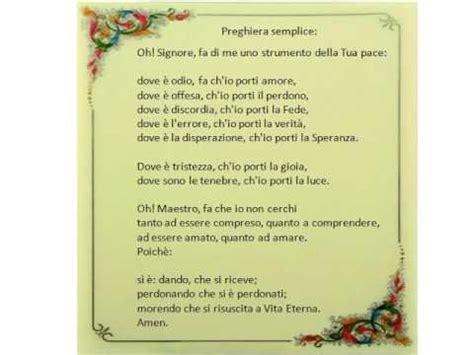 preghiera semplice testo preghiera semplice