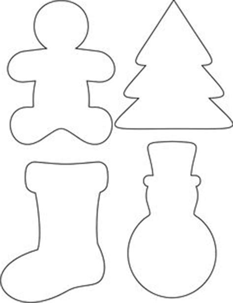 printable ornament shapes trace   chosen