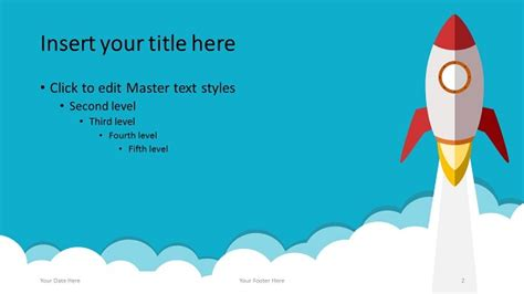 Rocket Powerpoint Template Powerpoint Templates Size Of Slides