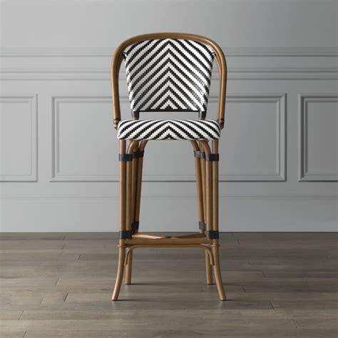 parisian woven bar stools parisian bistro woven bar stool williams sonoma