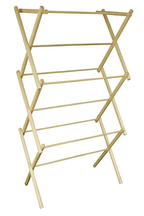 Wooden Drying Rack For Laundry by Mid Size Portable Wooden Clothes Drying Rack