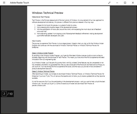free reader 4 free pdf readers for windows 10