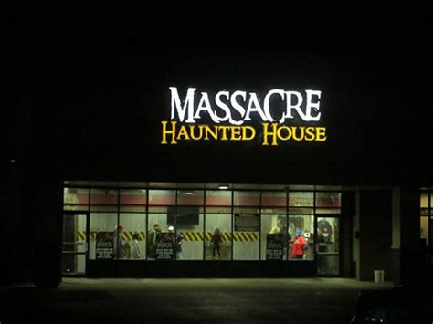 christmas haunted house review massacre haunted house presents christmas nightmare