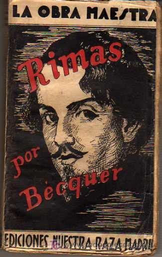 libro rmas de gustavo a rimas por gustavo adolfo b 233 cquer comprar libros antiguos de poes 237 a en todocoleccion 17528026