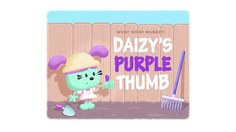 Gamis Pudle Pop daizy s purple thumb wubbzypedia fandom powered by wikia