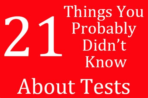 21 Things You Probably Didn T Know About Quot Fifty Shades Of | 21 things you probably didn t know about test preparation