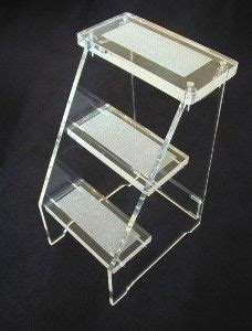 Clear Acrylic Step Stool by Mod Acrylics Products We On Lucite Desk