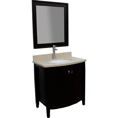 home depot design vanity kbd designs london 32 in vanity in espresso with marble