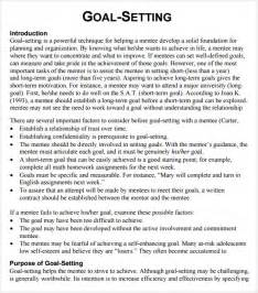 Goal setting template 12 download free documents in pdf word
