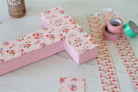 como decorar letras en papel c 243 mo hacer letras de cart 243 n para decorar la habitaci 243 n del