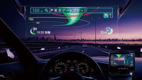 best hud pioneer s laser projected car hud lets you drive like