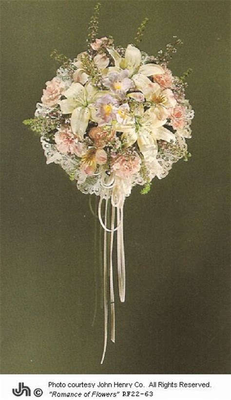 Silk Wedding Flowers Cheap by Cheap Silk Bridal Bouquets