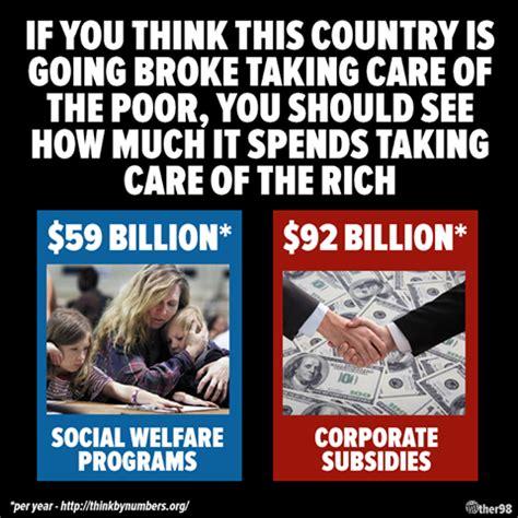 Corporate America Meme - jobsanger corporations get the most welfare