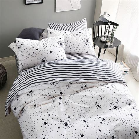 Black And White Coverlet King White Coverlet King Promotion Shop For Promotional White