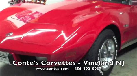 contes corvettes vineland nj sold 1975 corvette convertible for sale at conte s