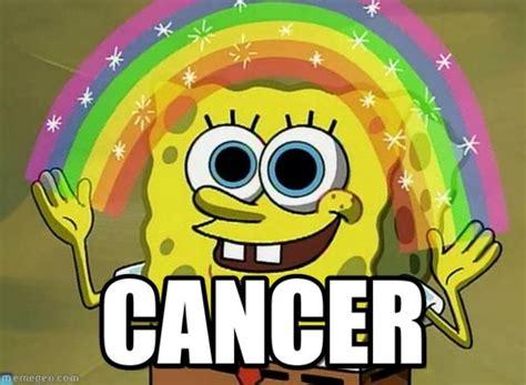 Cancer Meme - cancer imagination spongebob meme on memegen
