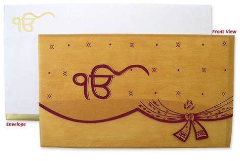Sikh Wedding Invitation Cards by Colorful Sikh Weddings Invitation Cards